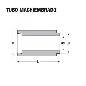 Tubo Machiembrado